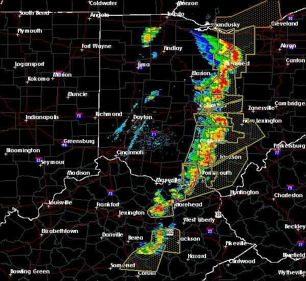Radar Image for Severe Thunderstorms near Minerva Park, OH at 6/10/2020 7:08 PM EDT