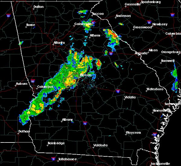 Radar Image for Severe Thunderstorms near Byron, GA at 6/10/2020 7:10 PM EDT