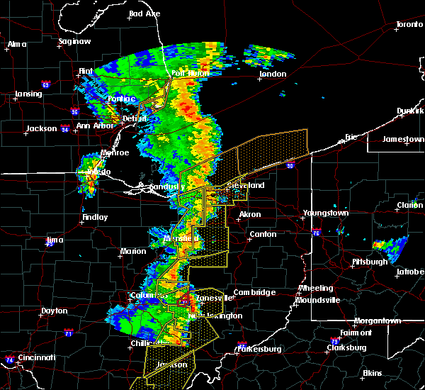 Radar Image for Severe Thunderstorms near Walnut Creek, OH at 6/10/2020 7:42 PM EDT