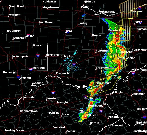 Radar Image for Severe Thunderstorms near Nelsonville, OH at 6/10/2020 7:54 PM EDT