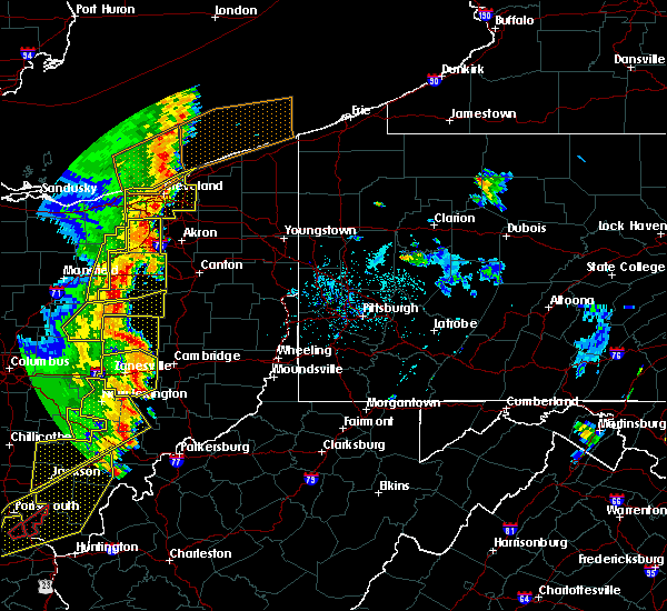 Radar Image for Severe Thunderstorms near Baltic, OH at 6/10/2020 8:02 PM EDT