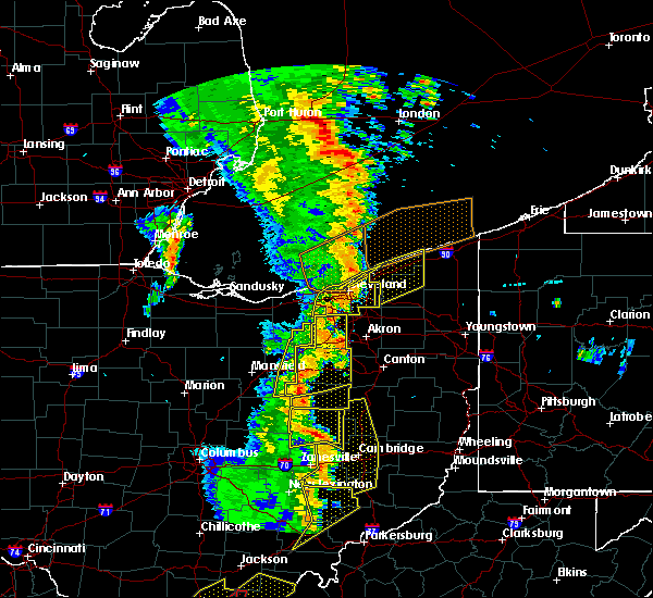 Radar Image for Severe Thunderstorms near Richfield, OH at 6/10/2020 8:08 PM EDT