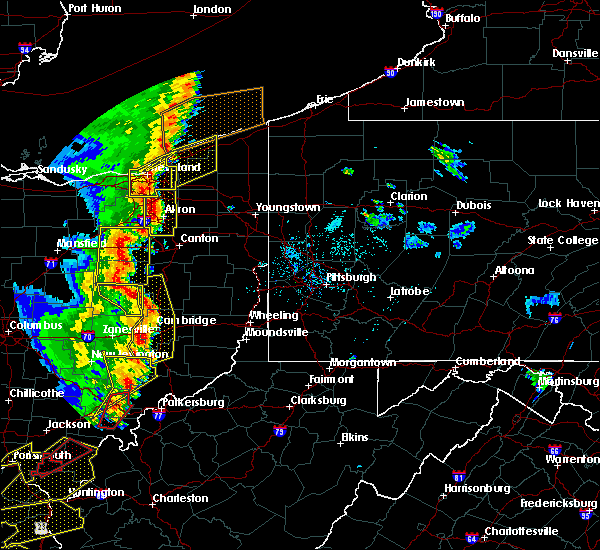 Radar Image for Severe Thunderstorms near Baltic, OH at 6/10/2020 8:19 PM EDT