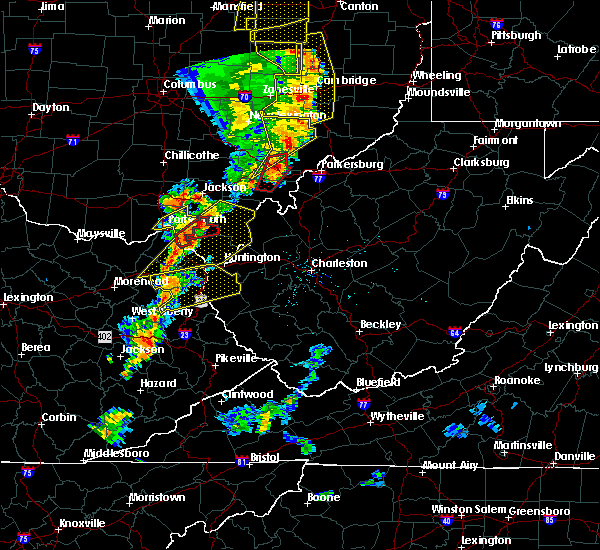 Radar Image for Severe Thunderstorms near Centerville, OH at 6/10/2020 8:19 PM EDT