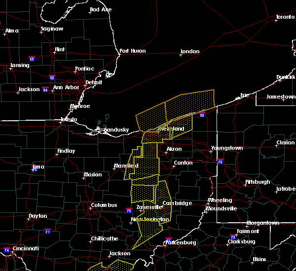 Radar Image for Severe Thunderstorms near Mayfield, OH at 6/10/2020 8:20 PM EDT