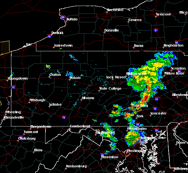Radar Image for Severe Thunderstorms near Ringtown, PA at 6/10/2020 8:47 PM EDT