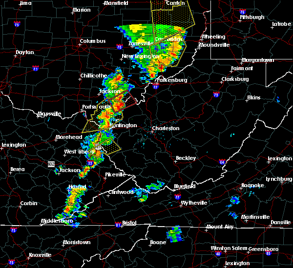 Radar Image for Severe Thunderstorms near Rutland, OH at 6/10/2020 8:59 PM EDT