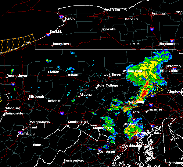 Radar Image for Severe Thunderstorms near Ringtown, PA at 6/10/2020 9:01 PM EDT