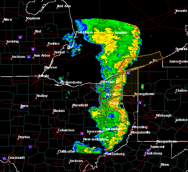 Radar Image for Severe Thunderstorms near Limaville, OH at 6/10/2020 9:09 PM EDT