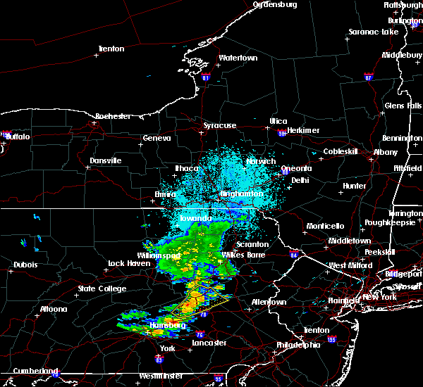 Radar Image for Severe Thunderstorms near Ringtown, PA at 6/10/2020 9:18 PM EDT