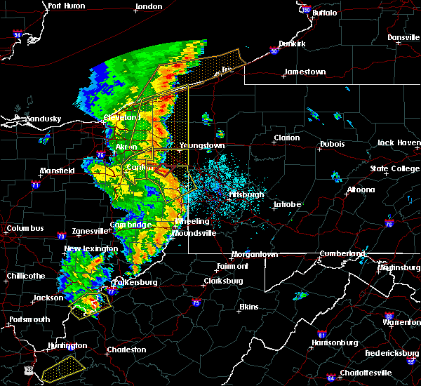 Radar Image for Severe Thunderstorms near West Middlesex, PA at 6/10/2020 9:26 PM EDT