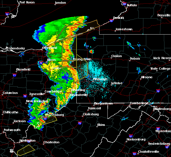 Radar Image for Severe Thunderstorms near Industry, PA at 6/10/2020 9:37 PM EDT