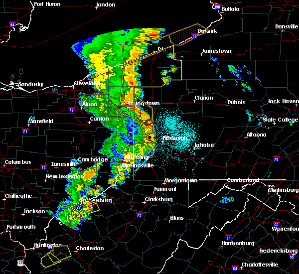 Radar Image for Severe Thunderstorms near Greenville, PA at 6/10/2020 9:55 PM EDT