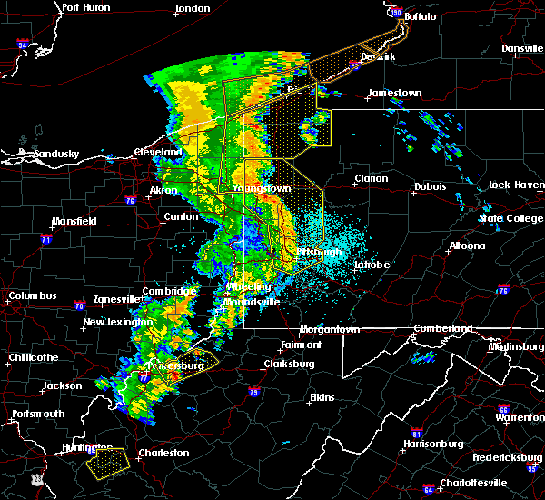 Radar Image for Severe Thunderstorms near Mill Village, PA at 6/10/2020 10:06 PM EDT