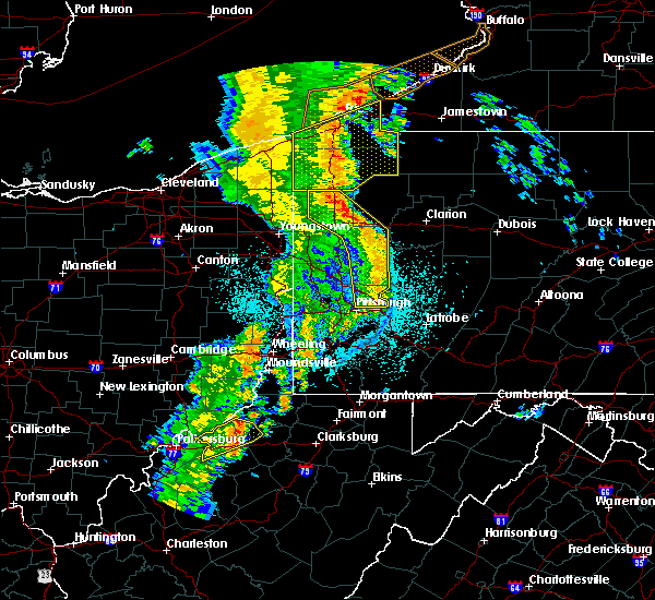 Radar Image for Severe Thunderstorms near Mill Village, PA at 6/10/2020 10:28 PM EDT