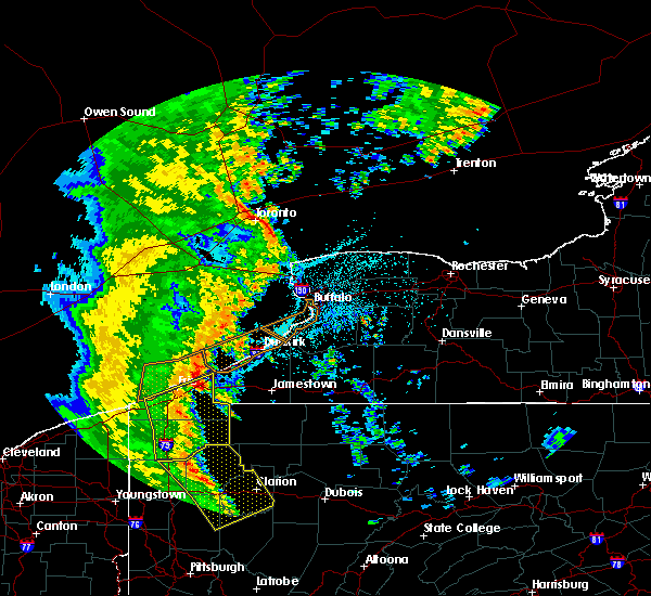 Radar Image for Severe Thunderstorms near Panama, NY at 6/10/2020 10:39 PM EDT