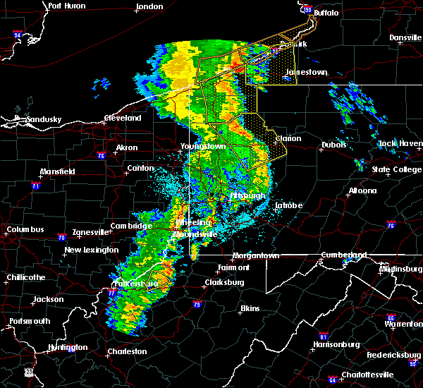 Radar Image for Severe Thunderstorms near Cooperstown, PA at 6/10/2020 10:41 PM EDT