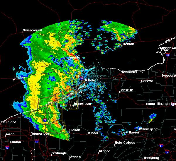 Radar Image for Severe Thunderstorms near Pavilion, NY at 6/10/2020 10:52 PM EDT