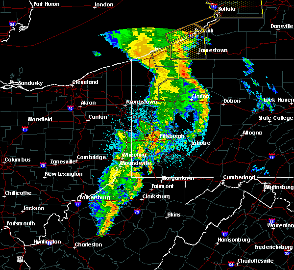 Radar Image for Severe Thunderstorms near Mill Village, PA at 6/10/2020 11:13 PM EDT