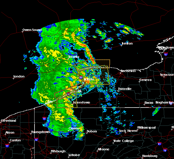 Radar Image for Severe Thunderstorms near Geneseo, NY at 6/10/2020 11:29 PM EDT
