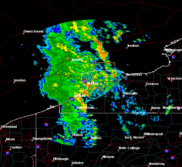 Radar Image for Severe Thunderstorms near Angelica, NY at 6/10/2020 11:47 PM EDT