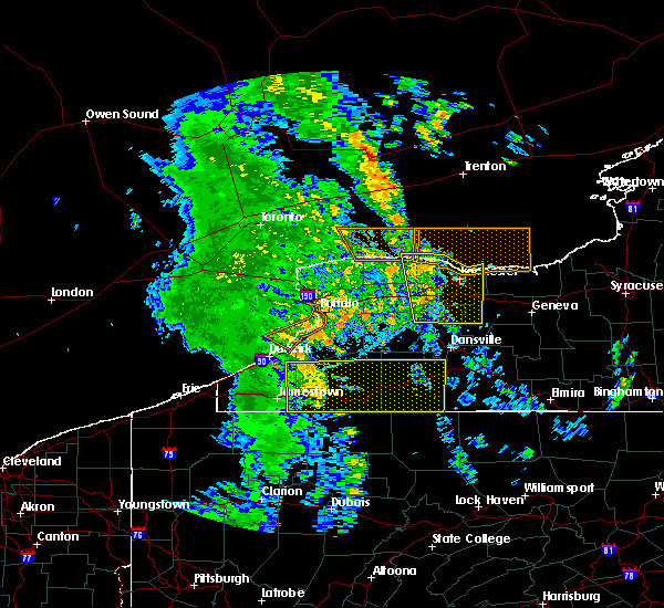 Radar Image for Severe Thunderstorms near Geneseo, NY at 6/10/2020 11:57 PM EDT