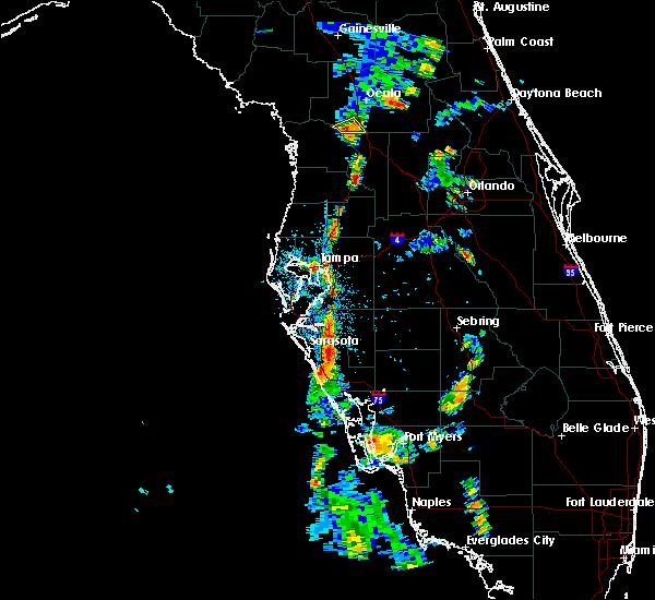 Radar Image for Severe Thunderstorms near Hernando, FL at 6/11/2020 5:49 PM EDT