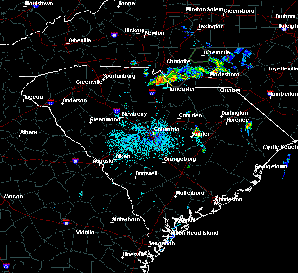 Radar Image for Severe Thunderstorms near Wingate, NC at 6/11/2020 11:39 PM EDT