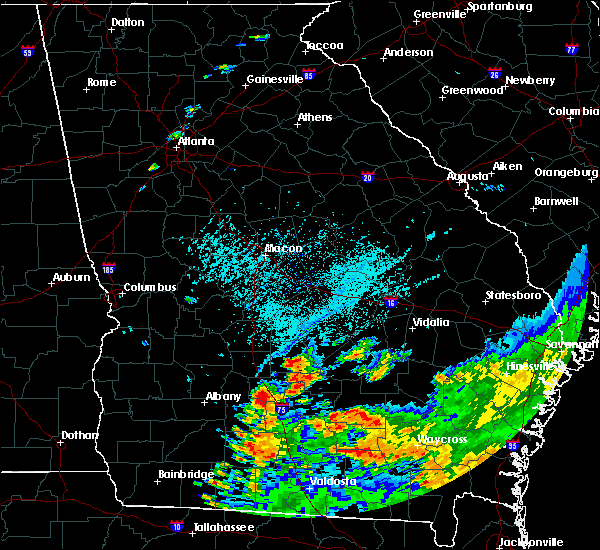 Radar Image for Severe Thunderstorms near Pitts, GA at 6/12/2020 6:39 PM EDT
