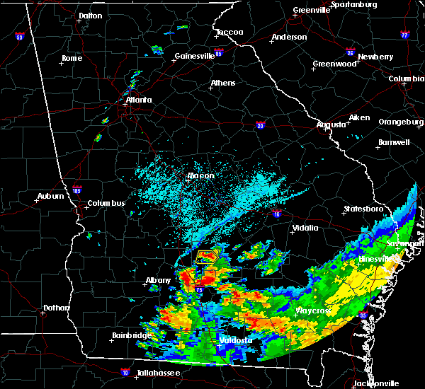 Radar Image for Severe Thunderstorms near Pitts, GA at 6/12/2020 7:02 PM EDT