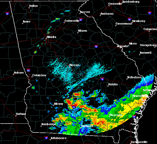Radar Image for Severe Thunderstorms near Pitts, GA at 6/12/2020 7:15 PM EDT