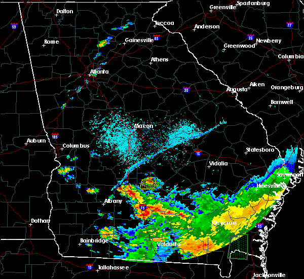 Radar Image for Severe Thunderstorms near Pitts, GA at 6/12/2020 7:44 PM EDT