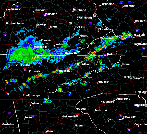 Radar Image for Severe Thunderstorms near Midtown, TN at 6/14/2020 12:57 PM EDT