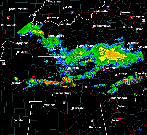 Radar Image for Severe Thunderstorms near Columbia, TN at 6/14/2020 12:15 PM CDT