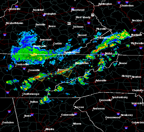 Radar Image for Severe Thunderstorms near Decatur, TN at 6/14/2020 1:25 PM EDT