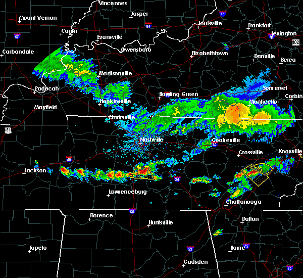 Radar Image for Severe Thunderstorms near Columbia, TN at 6/14/2020 12:35 PM CDT
