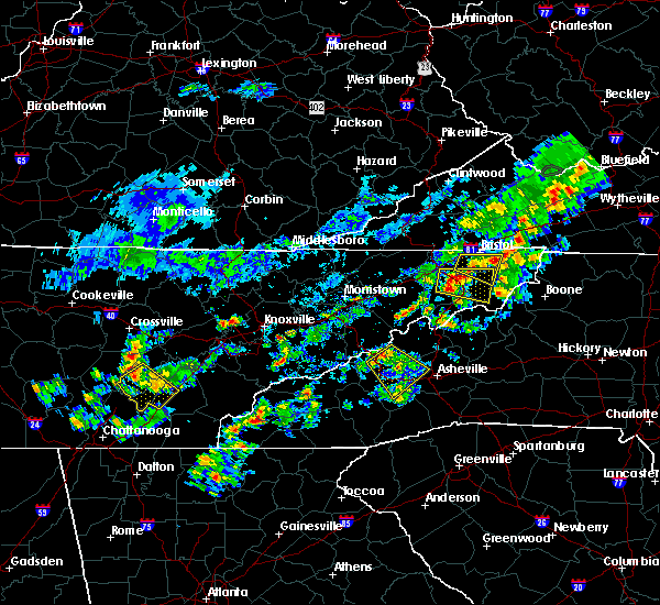 Radar Image for Severe Thunderstorms near Greeneville, TN at 6/14/2020 2:21 PM EDT
