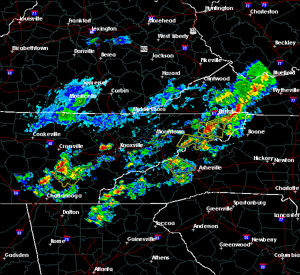 Radar Image for Severe Thunderstorms near Oak Grove, TN at 6/14/2020 2:31 PM EDT