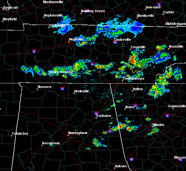 Radar Image for Severe Thunderstorms near Decatur, TN at 6/14/2020 2:33 PM EDT
