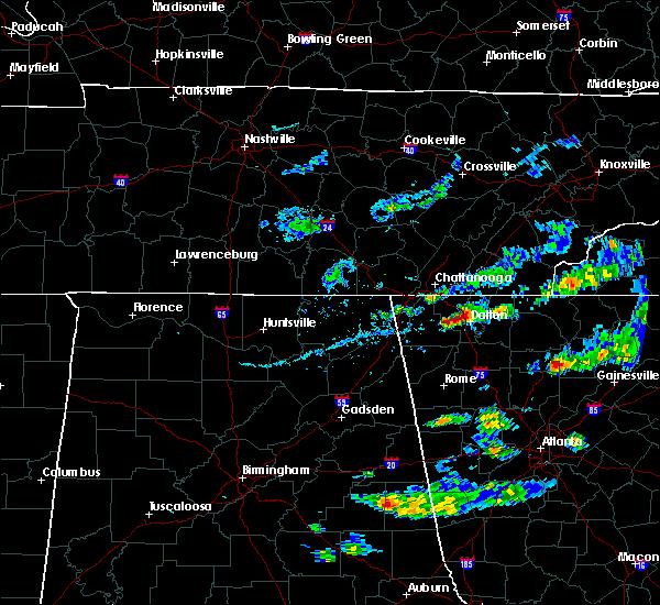 Radar Image for Severe Thunderstorms near Varnell, GA at 6/14/2020 4:22 PM EDT