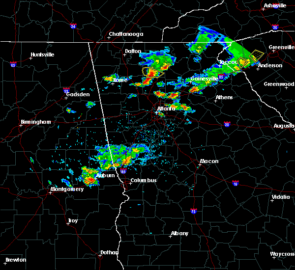 Radar Image for Severe Thunderstorms near Duluth, GA at 6/14/2020 6:02 PM EDT