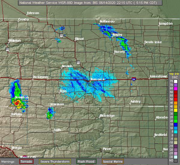 Radar Image for Severe Thunderstorms near Reeder, ND at 6/14/2020 4:20 PM MDT