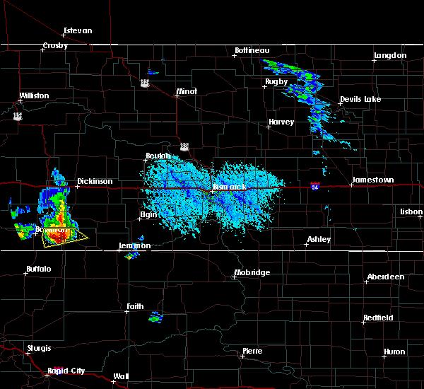 Radar Image for Severe Thunderstorms near Reeder, ND at 6/14/2020 4:53 PM MDT