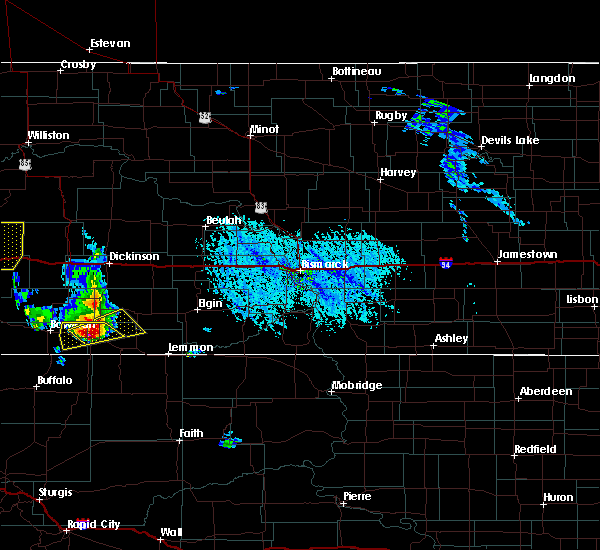 Radar Image for Severe Thunderstorms near Reeder, ND at 6/14/2020 5:01 PM MDT