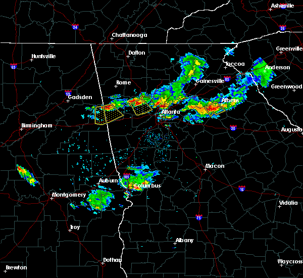 Radar Image for Severe Thunderstorms near Edwardsville, AL at 6/14/2020 6:21 PM CDT