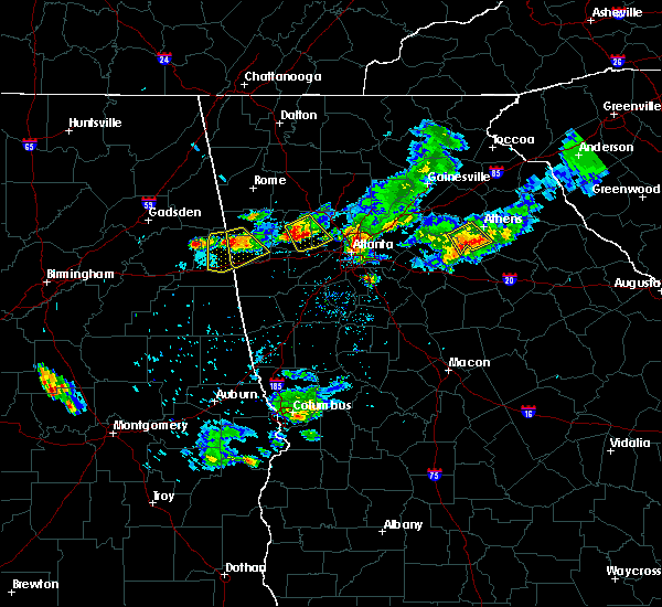 Radar Image for Severe Thunderstorms near Edwardsville, AL at 6/14/2020 6:34 PM CDT