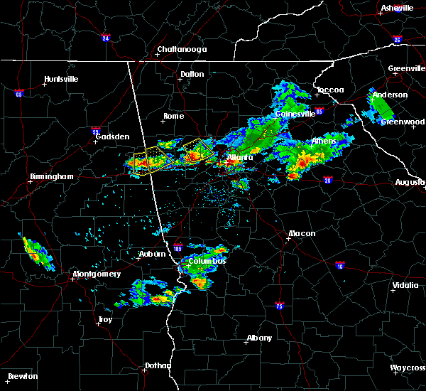 Radar Image for Severe Thunderstorms near Edwardsville, AL at 6/14/2020 6:49 PM CDT
