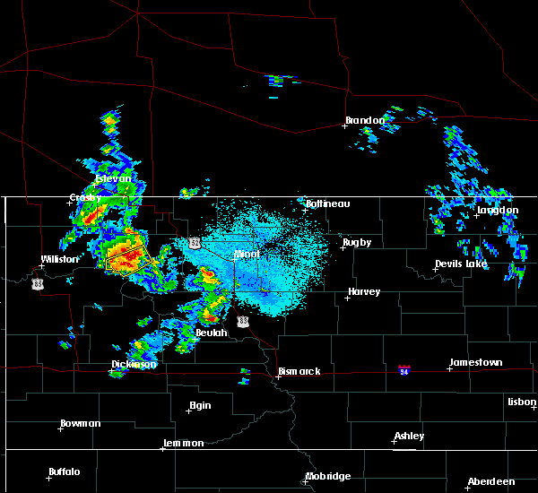 Radar Image for Severe Thunderstorms near Palermo, ND at 6/14/2020 8:59 PM CDT