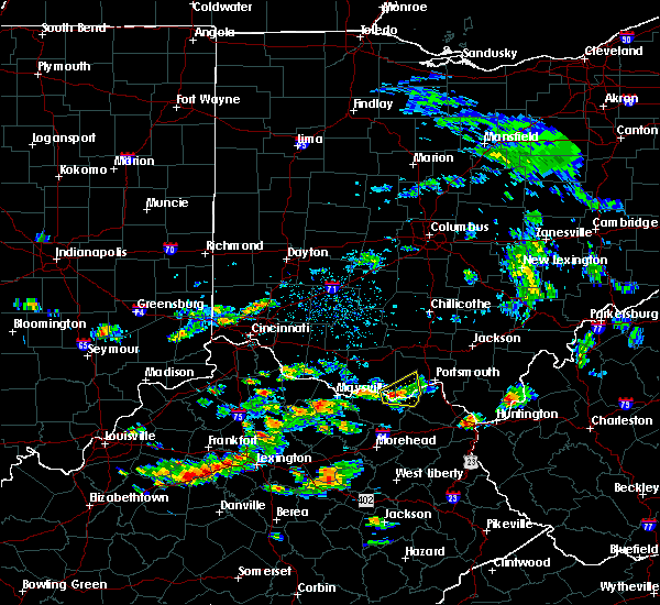 Radar Image for Severe Thunderstorms near Friendship, OH at 6/29/2015 4:32 PM EDT
