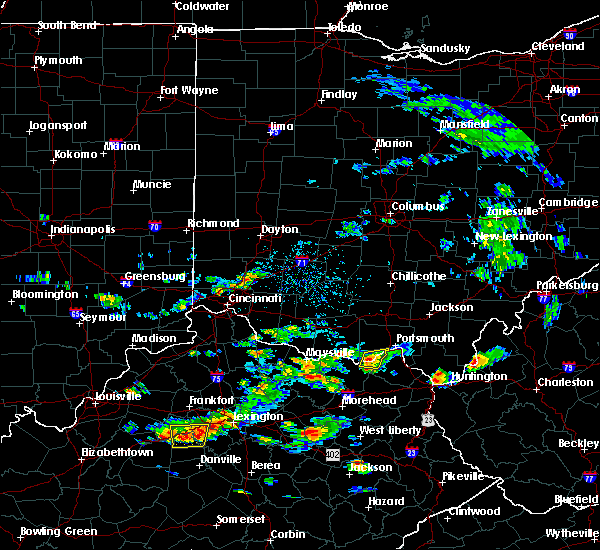 Radar Image for Severe Thunderstorms near Friendship, OH at 6/29/2015 4:43 PM EDT